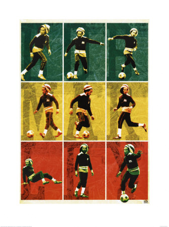 PPR40004~Bob-Marley-Football-Collage-Posters